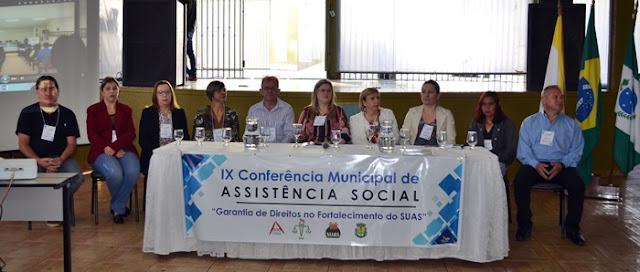 Roncador: Prefeitura e Conselho Municipal realizaram a IX Conferência Municipal de Assistência Social