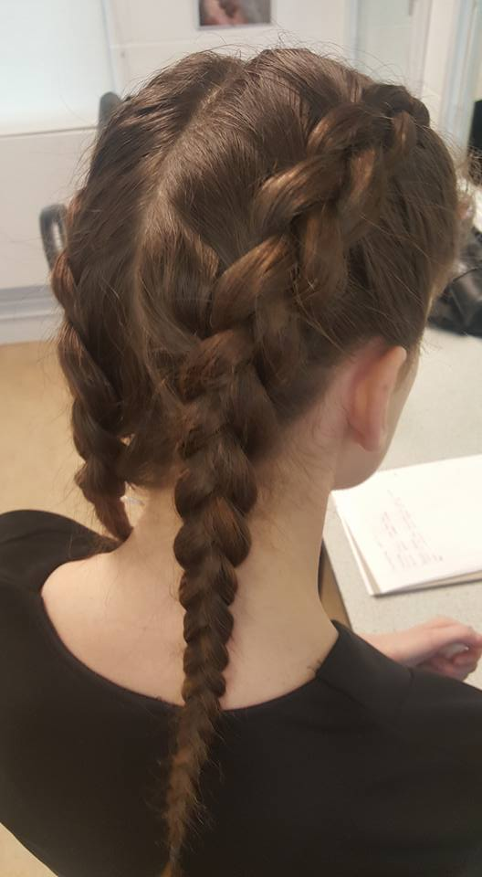 Peachy How To Do Pleats In Hair Gommap Blog Hairstyles For Women Draintrainus