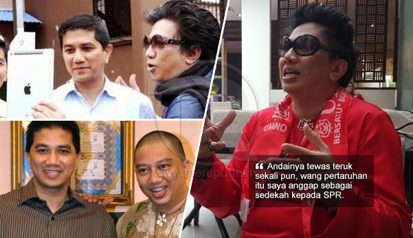 'Kalau tewas pun tak apa, saya tetap tidak berkudis' - Azwan nekad lawan Azmin di PRU14