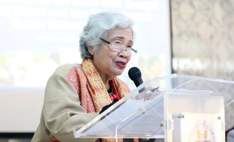 Department of Education (DepEd) Secretary Leonor Magtolis Briones