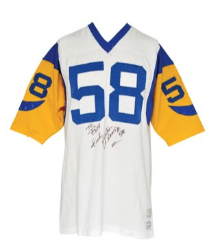online store f5217 16a9d This  58 jersey has proper typeface for numerals, size, and is a 1973  authentic, in my opinion.