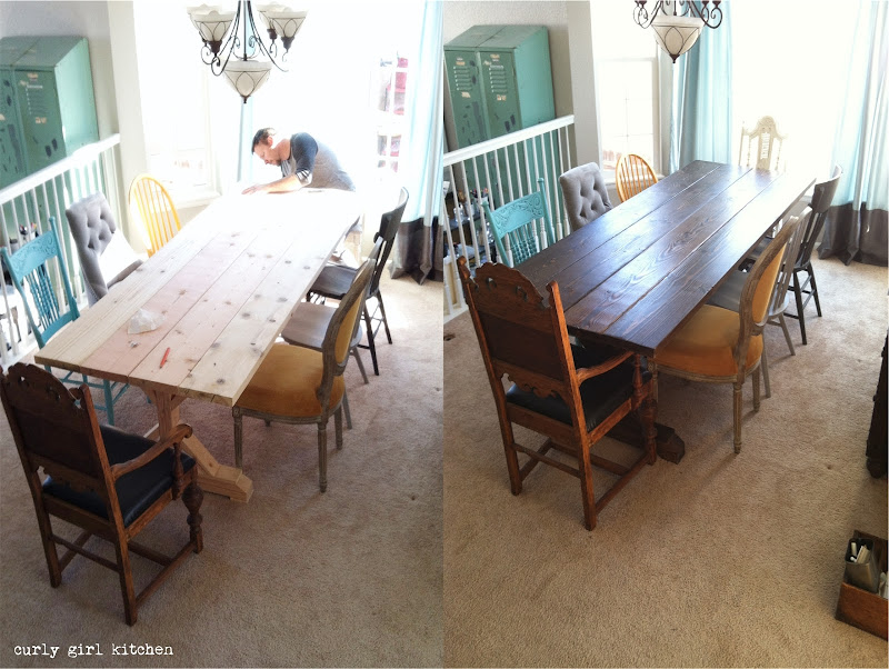 Dining Room, Farmhouse Table, Trestle Table