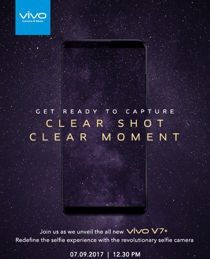 Vivo Will Launch V7+ With Infinity Like Screen Soon