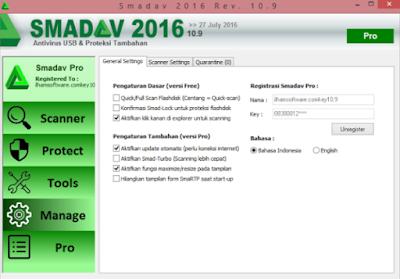 Download Antivirus Smadav Rev 10.9 Full Crack Terbaru
