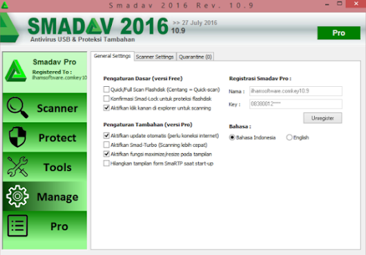 Download Antivirus Smadav Rev 10.9 Full Crack Terbaru