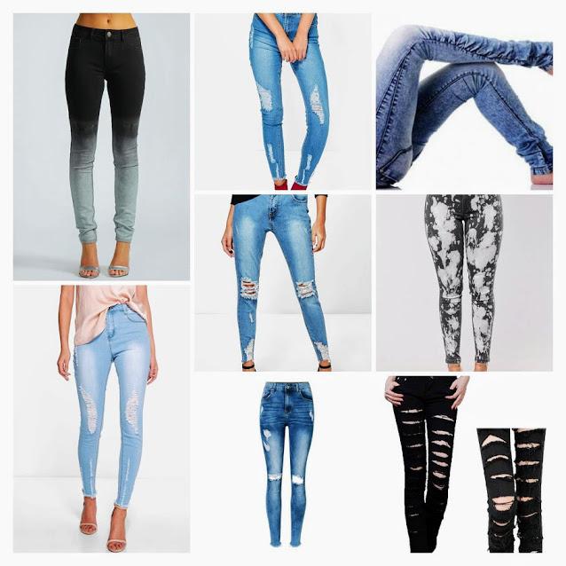 Ladies designer fancy denim jeans