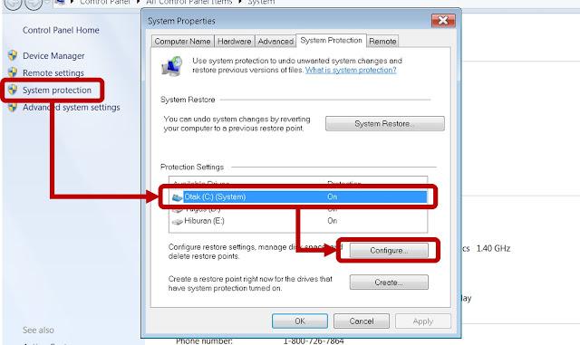 step tutorial clear folder C windows 7