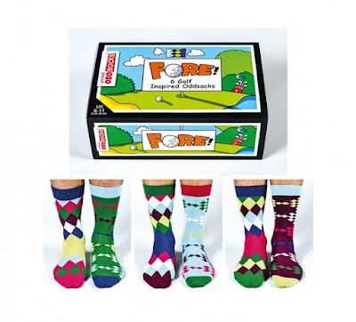 Fore! gift set from United Oddsocks
