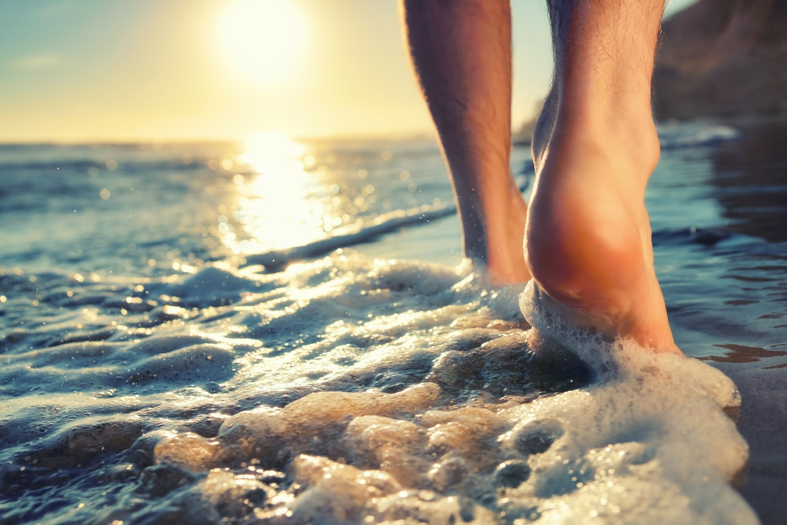 Benefits Of Walking Barefoot