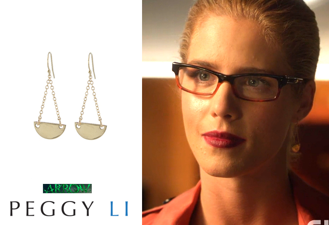 Felicity Smoak earrings