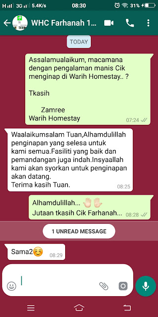 Warih-Homestay-Testimoni-Team-M7-Japan