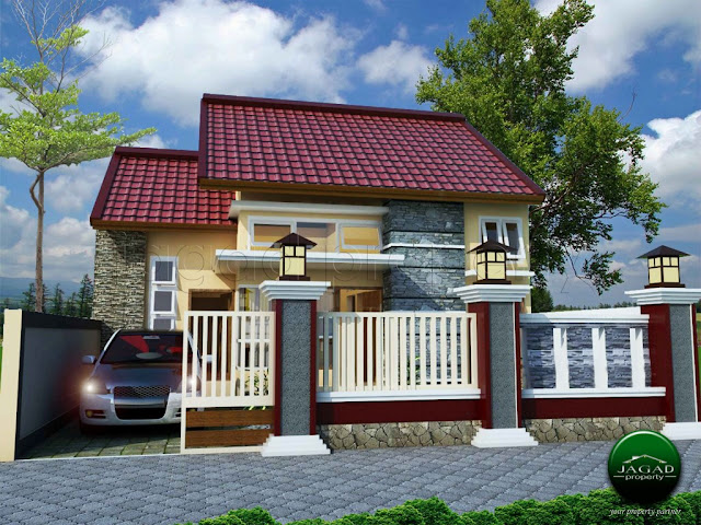 Rumah Siap Bangun di Jalan Damai dekat UGM