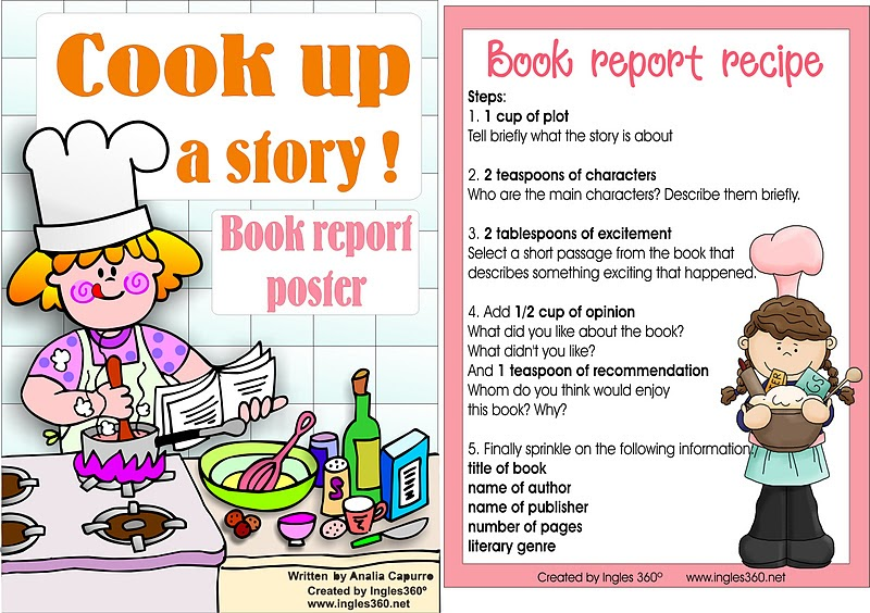 Simply Centers: Free Book report poster