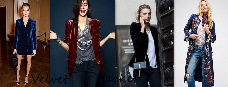 velvet jacket trend