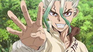Dr. Stone: anime ganha novo vídeo promocional