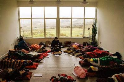 sesion de yoga nidra