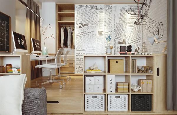 Desain Interior Rumah Type 45