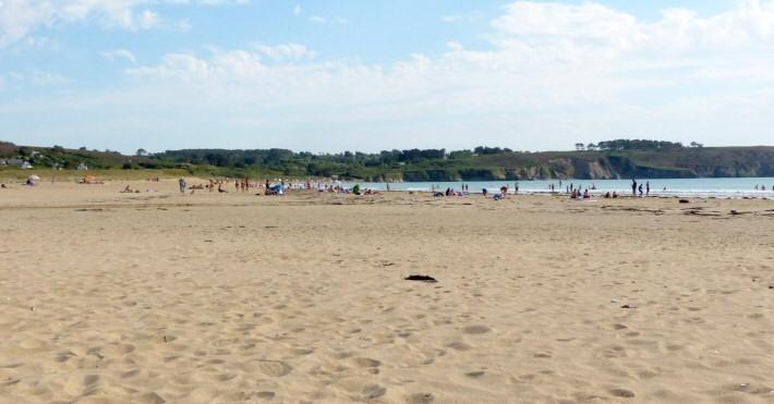 La plage de Goulien