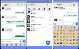 BBM Like iOS v3.2.0.6 Apk