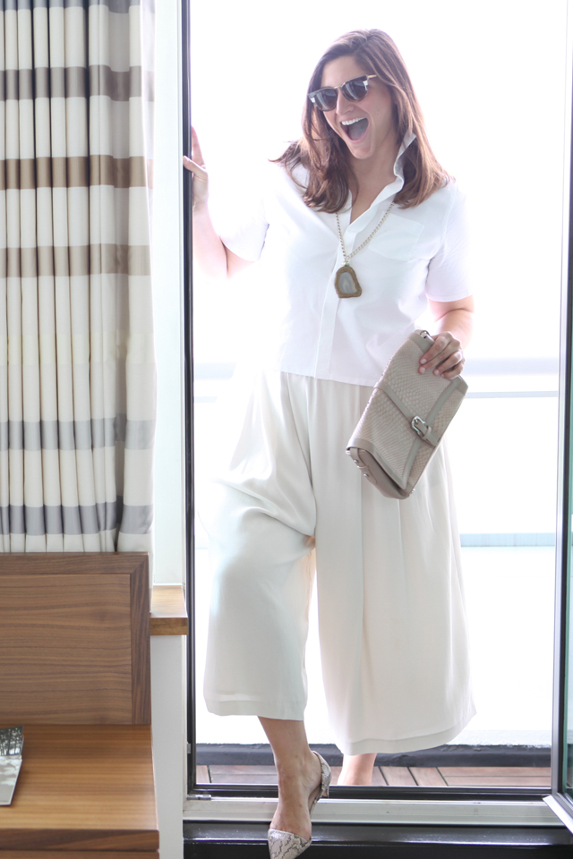 The perfect pair of culottes.