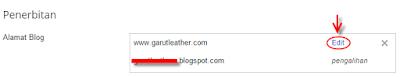 edit konfigurasi domain