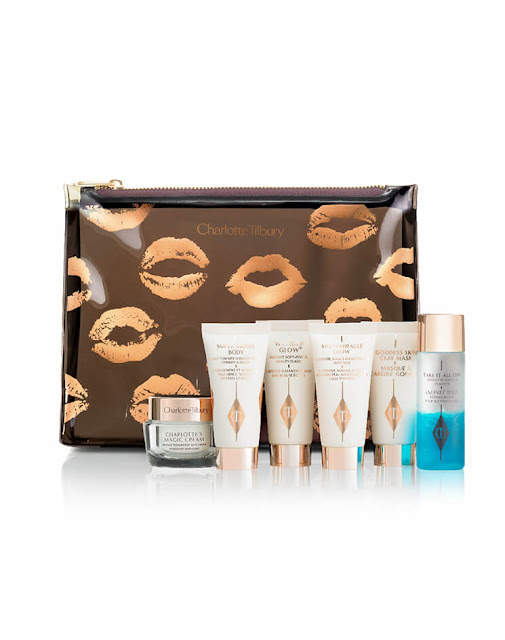 charlotte tilbury gift of red carpet skin travel kit