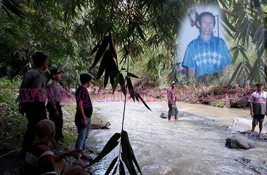 Diduga Tenggelam, Seorang Kakek Ditanggamus Hilang
