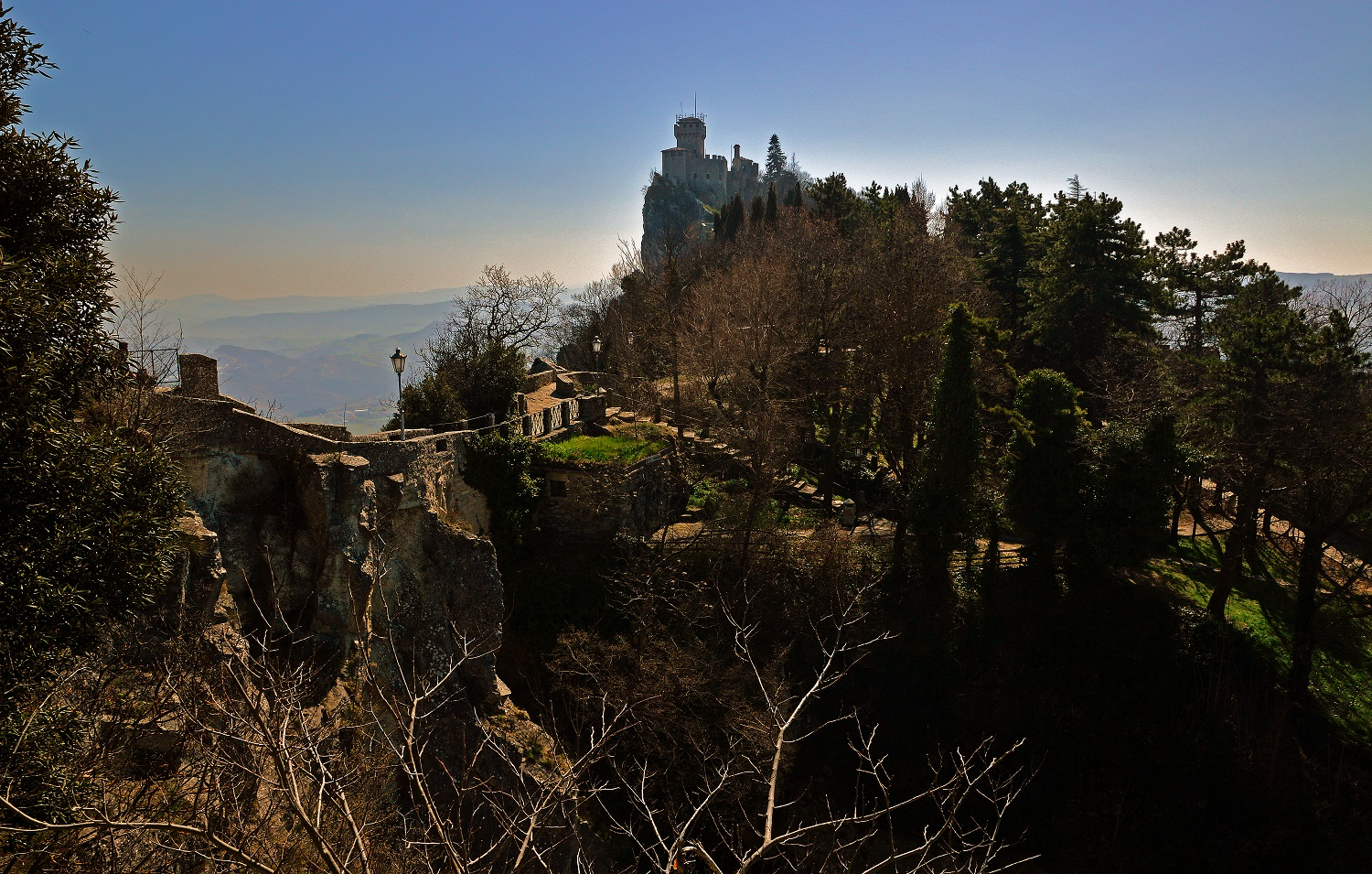 San Marino Second Tower