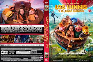 LA GRAN AVENTURA DE LOS LUNNIS Y EL LIBRO MAGICO – 2019 [COVER – DVD]
