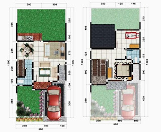 Minimalist House Design Type 60 Efficient