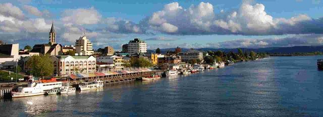 City of Valdivia, Chile.