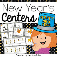 New Years centers for ELA and Math