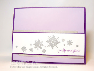 Sparkle and Shine-designed by Lori Tecler-Inking Aloud-stamps from Clear and Simple Stamps
