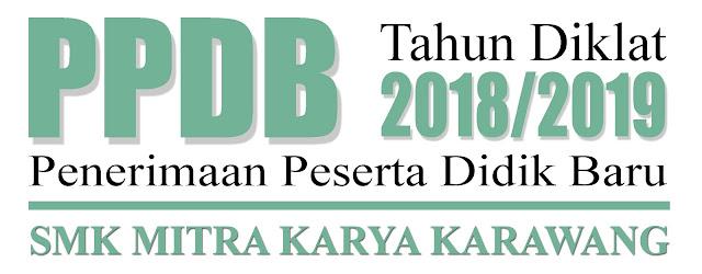 PPDB 2018 SMK Mitra Karya