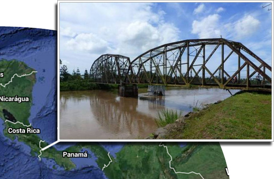 Fronteiras pelo mundo - Costa Rica e Panamá