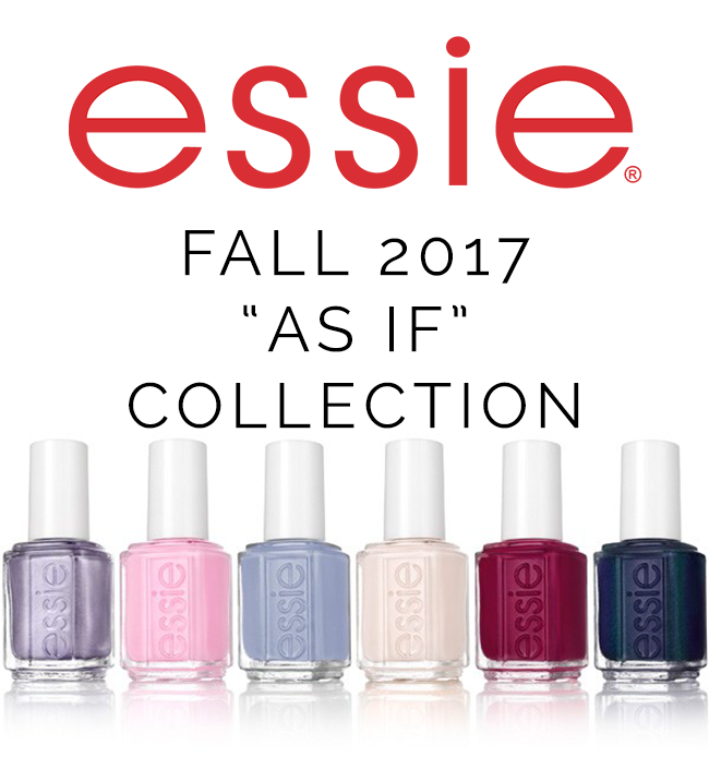 Stylish Nail Collection: Essie Fall 2017 \