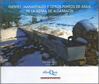 Fuentes, manantiales y otros puntos de agua de la Sierra de Albarracín. Aproximación a su estudio e inventario