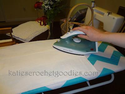 chevron ironing board