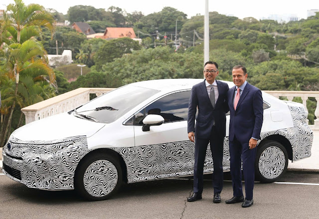 Novo Toyota Corolla 2020 híbrido Flex