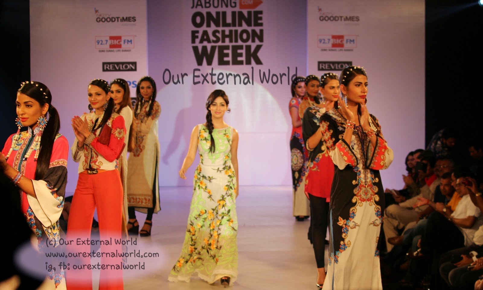 Grand Finale - Jabong India Online Fashion Week - Yami Gautam for Rajdeep Ranawat