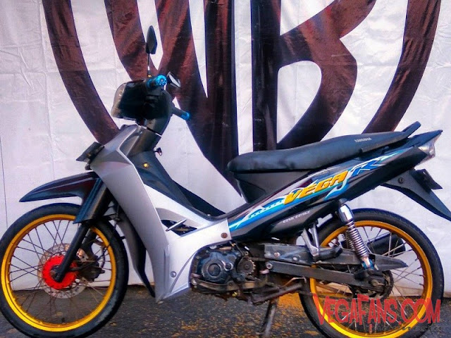 Modifikasi Vega R New Abu Abu Hitam Modif Standar Simple
