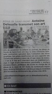 Delesalle Antoine publicateur libre