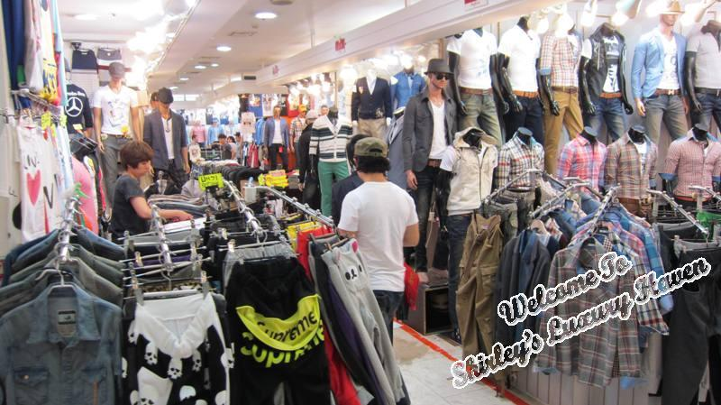 Men Fashion Shopping Seoul