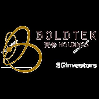 BOLDTEK HOLDINGS LIMITED (5VI.SI) @ SG investors.io