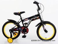 Sepeda Anak UNITED   DC SUPERFRIENDS BATCAVE