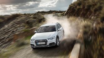 Wallpaper: Audi A4 Allroad Quattro