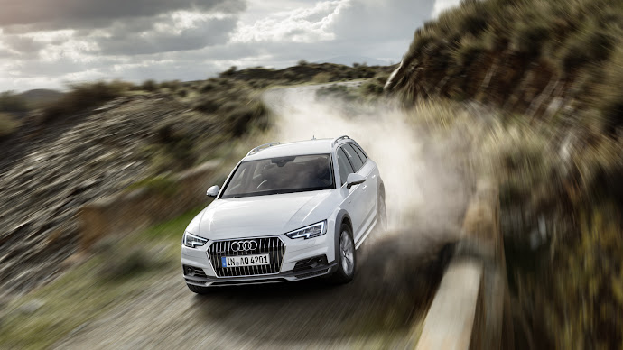 Wallpaper: Audi A4 Allroad Quattro