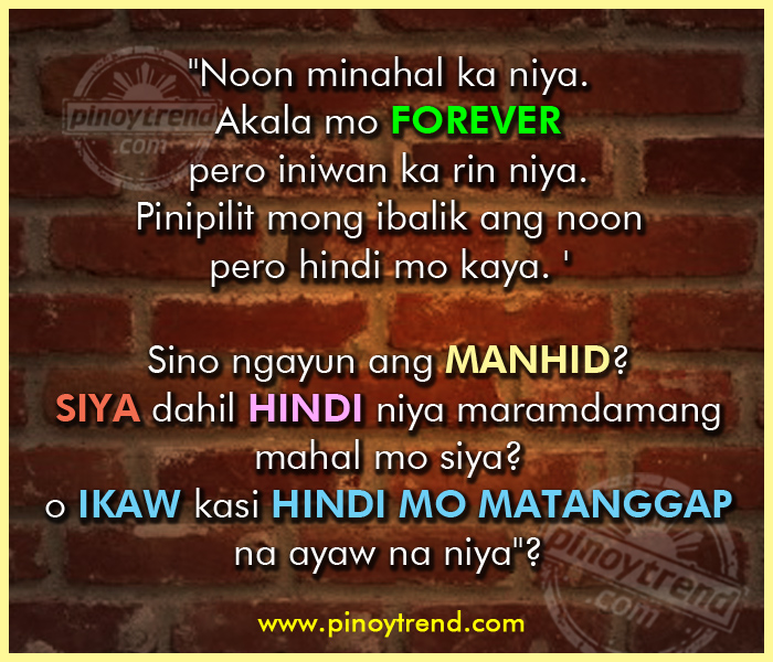 Tagalog Quotes Move On Quotes Letting Go. QuotesGram