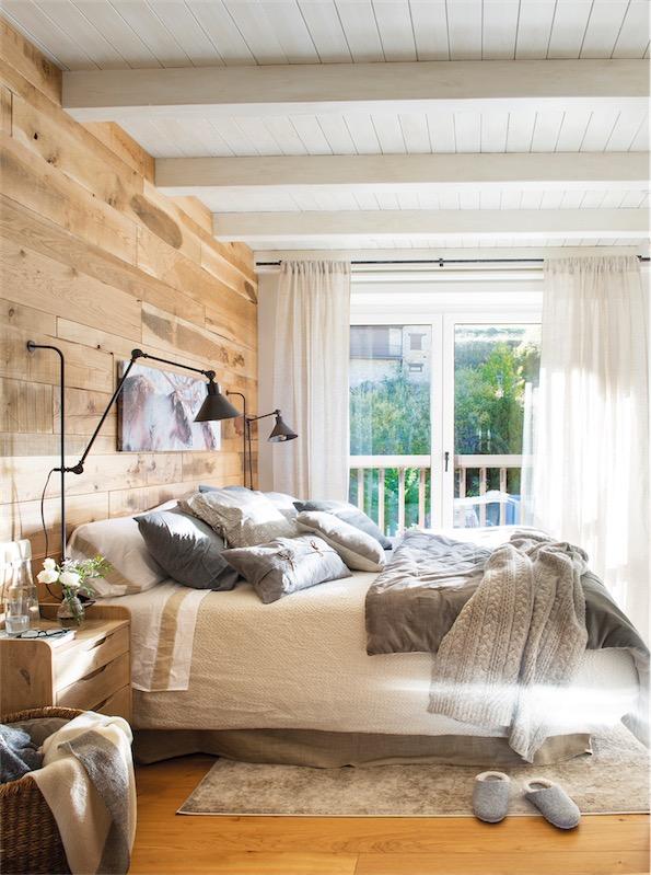 casa de montaña con un interior de inspiración nórdica chicanddeco