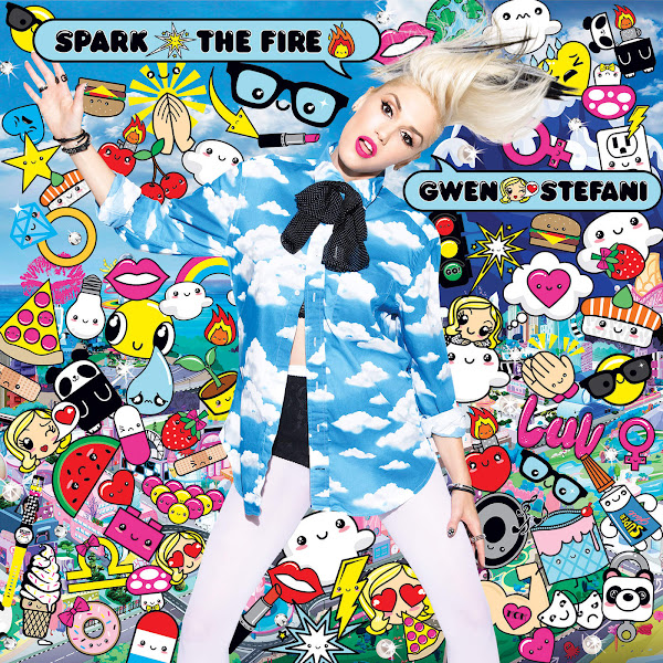Gwen Stefani - Spark the Fire - Single Cover